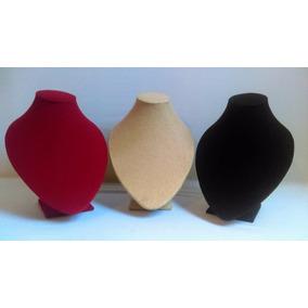 6 Piezas Exhibidor De Busto Para Collar Cadena C/u 140 Mod.2