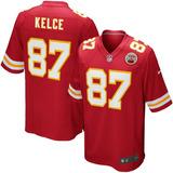 7baeb3530d Camisa Nfl Kansas City Chiefs 1 Futebol Americano  87 Kelce