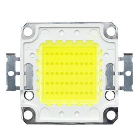 Kit 20 Chip Super Led Branco Frio 50w Refletores Projetos
