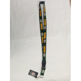 Porta Gafete Credencial Llaves Green Bay Packers Nfl Oficial bd56d6cc696