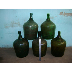 Damajuanas De 10 L. De Vidrio.limpias