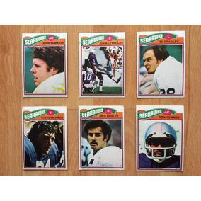 1977 Topps Mexican Nfl Seattle Seahawks Halcones 6 Tarjetas 98506899789