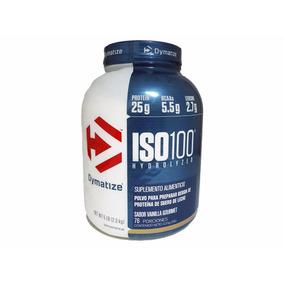Proteina Dymatize Iso 100 5 Lb Sabor Vainilla