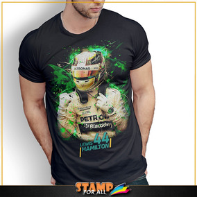 Adesivo Lewis Hamilton - Camisetas e Blusas no Mercado Livre Brasil b0148ccf19f12