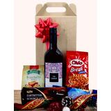 Set Navidad Con Vino Personalizado - Regalos Fin De Año