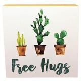 Quadrinho Free Hugs 20x20