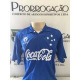 Camisa Do Cruzeiro Coca Cola Oficial - Camisas de Times de Futebol ... 9739ec011ae4c