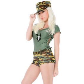 Libre En Argentina Militar Mercado Disfraces Mujer Disfraz wg84qX4