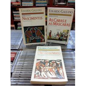 Colecao Memoria Do Fogo 3 Volumes Eduardo Galeano