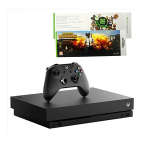 Console Xbox One X Microsoft 1tb + Bundle Battlegrounds