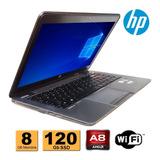 Notebook Hp Elitebook 745 Amd 8gb Ddr3 Ssd 120gb Refurbished