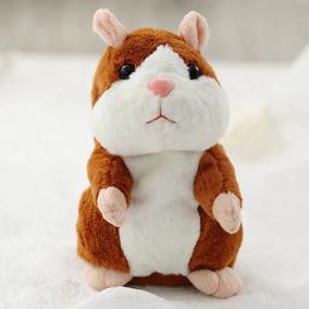 Pelúcia Hamster Falante Repete Tudo Que Falar Brinquedo!