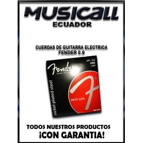 Cuerdas De Guitarra Electrica Fender 0.9
