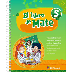 El Libro De Mate 5 - Santillana