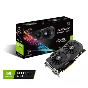 Tarjeta De Vídeo Asus Geforce Gtx 1050 Ti 4gb Ddr5 Strix
