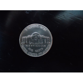 Moeda Niquel 5 Cinco Five Cents Dolar 2013 P Usa Americano
