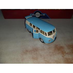 Kombi Volkswagen Miniatura De Metal - 1/32