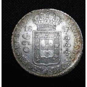 960 Réis Original 1817 R Linda Patina Recunho A Estudar