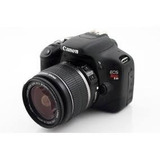 Camara Canon T2i Rebel Usada, Lente 18-55 Mm Y Estuche Origi