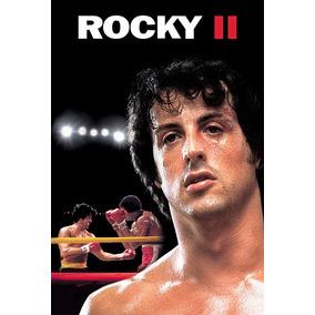 Pôster Cinema Filme Boxe Rocky Ii Sylvester Stallone # 1c