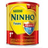 6 Latas Vazias De Leite Ninho Fase +1 - 800g