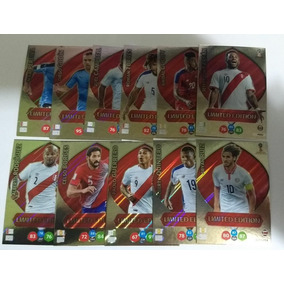 12 Cards Sul Americanos Limited Edition Exclusives Copa 2018