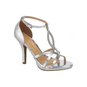 Sandalia Metal Glamour Vizzano Prata 6210.472