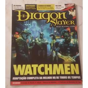 Revista Dragon Slayer Nº 24 - Ed. Escala - Watchmen