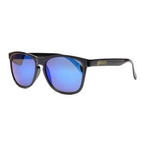 Óculos De Sol Importado Glassy Sunhaters Deric Black Blue. R  199 538a9195fe