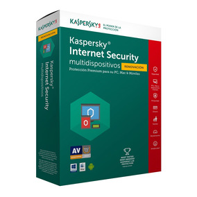 Kaspersky Antivirus Internet Security 3 Pc Renovacion