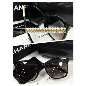 Óculos De Sol Chanel Feminino Com Pérola Pronta Entrega - Óculos no ... 980e220d03