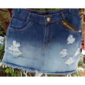 Mini Saia Jeans Tam 40