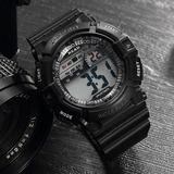 fb6f716a847 Relógio Masculino Read K-shock Multifunção Esportivo Militar