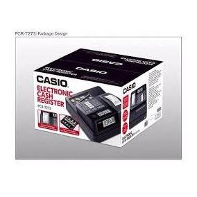 Caja Rejistradora Computarizada Casio T273 999 Articulos