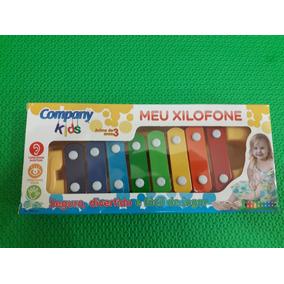 Brinquedo Infantil Meu Xilofone Piano Pianinho Musical