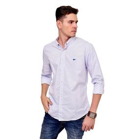 78449b876b209 Camisa Social Importada Lacoste Abercrombie 100% Original