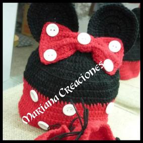 Escarpines Minnie En Crochet - Ropa y Accesorios en Mercado Libre ... 0425a366bce