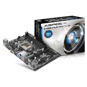 Placa-mãe Asrock P/ Intel Lga 1150 Matx H81m-hg4 D-sub, Hdmi