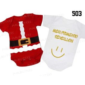 Body Natal Papai Noel + Meu Primeiro Réveillon Ref: 503