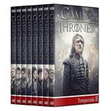 Game Of Thrones - 1° A 8° Temporada Em Dvd
