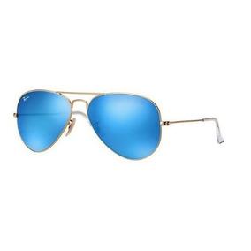 17 Azul Espelhado Original Ray Ban Aviador Rb3025 112 De Sol ... fa464f1f53