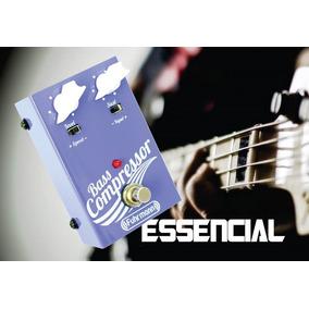Pedal Fuhrmann Bass Compressor Contrabaixo Música Som
