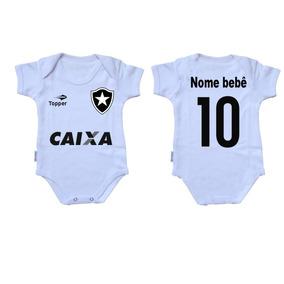 Roupa Bebe Botafogo - Roupas de Bebê no Mercado Livre Brasil e993b151c315e