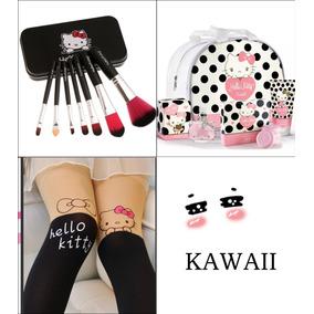 Conjunto Hello Kitty Sweet Com 6 Itens E Frete Gratis