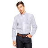 Camisa Lacoste Manga Comprida Original Com Nota Fiscal Dafit 61c246401d44b