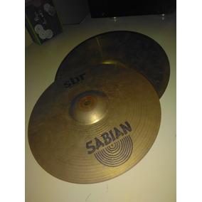 Platillos Hi Hat Sabian 14
