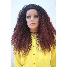 Half Wig Peruca Cacheada Fernanda - Várias Cores - Mlw