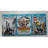 Juegos Nintendo Wii U Assasins Creed Donkey Kong Lego City