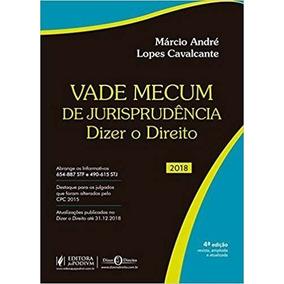 Vade Mecum De Jurisprudência - Dizer O Direito - 2018