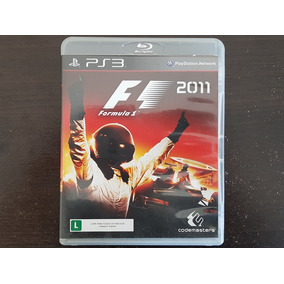 Jogo F1 2011 Seminovo Ps3 Playstation 3